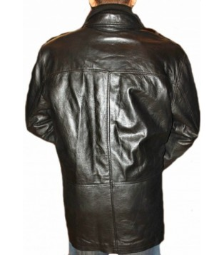 Man leather coat model Phil