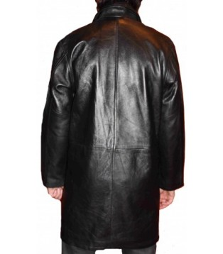 man leather coat modèle Lilian