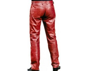 Man leather pant model Icara