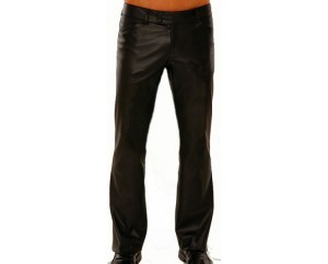 Man leather pant model Brize