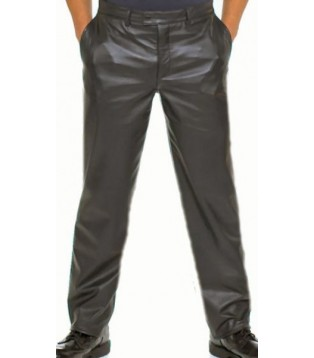 Man leather pant model Francis