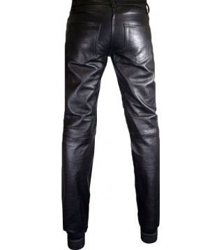 Man leather pant model Arty