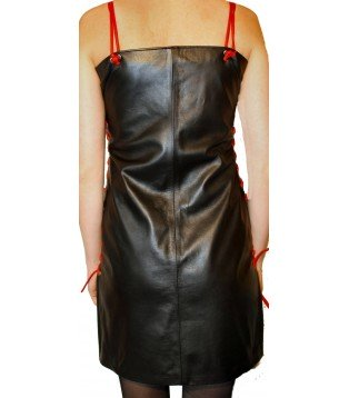 Leather dress model Pricy