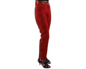 Woman leather pant model Bricia