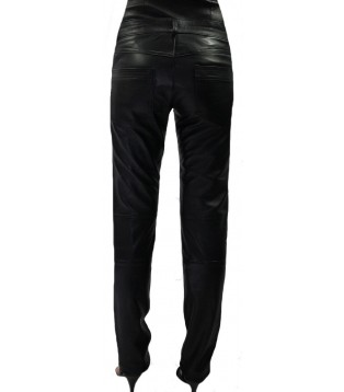 Woman leather pant model Cirila