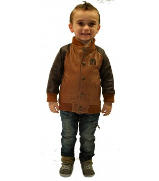 Children Jacket leather model Nolan