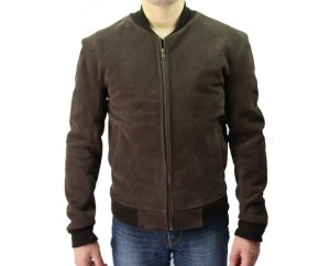 Man leather jacket model Teddy