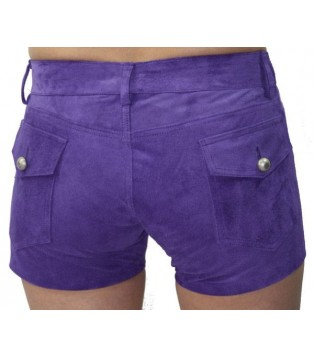 Woman's leather short model Blenda