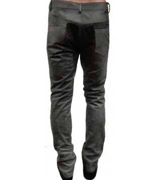 man leather pant model Bario