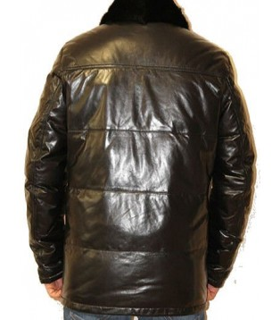 Man leather coat model Lirian