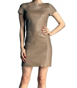 Leather dress model Sheila