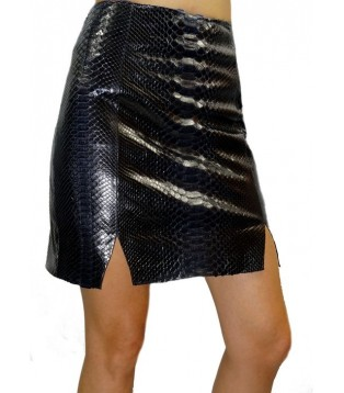 Leather skirt model Balika