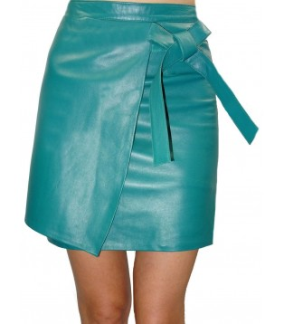 Leather skirt model Altea
