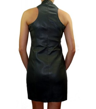 Lamb leather dress model Saphir