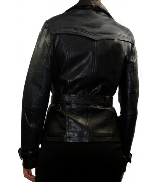 Woman's leather jacket model Mara