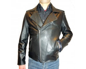 Man leather jacket model Ceasar