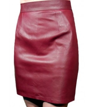 Leather skirt model Vani