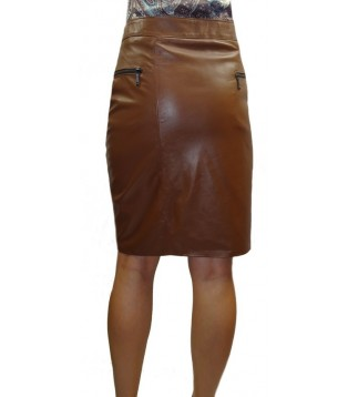 Leather skirt model Arianne