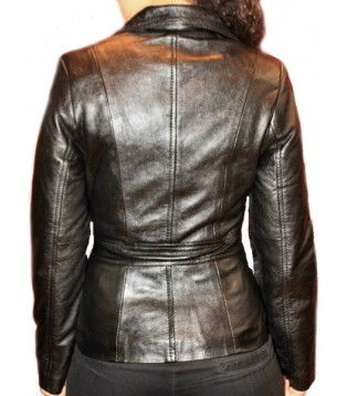Woman's leather jacket model Franza