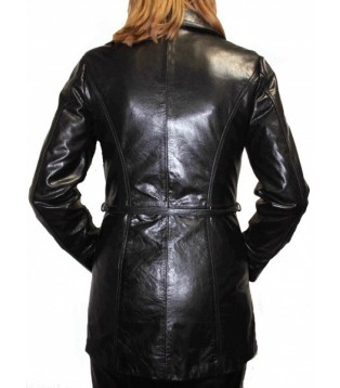 Woman's leather jacket model Eve
