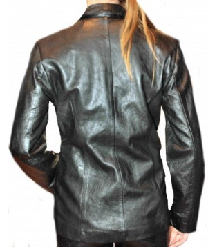 Woman's leather jacket model Dolores