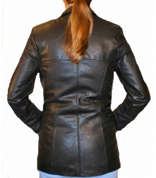 Woman's leather jacket model Aline