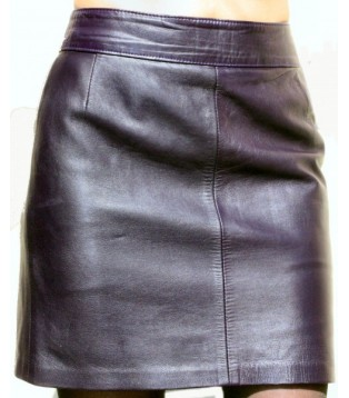 Leather skirt model Anya