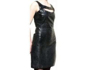 Leather dress model Capucine