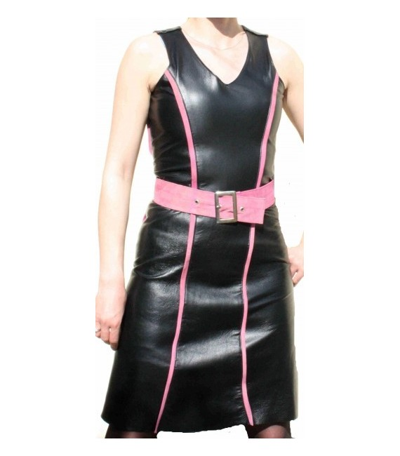 Leather dress model Rielle