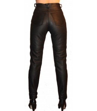 Leather pant model Laly