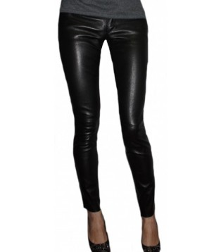 Leather pant model Fany