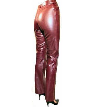 Leather pant model Anouchka