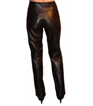 Leather pant model Anny