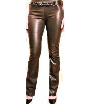 Woman leather pant model Ada