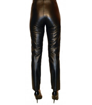 Woman leather pant model Florane