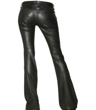 Woman leather pant model Kandy